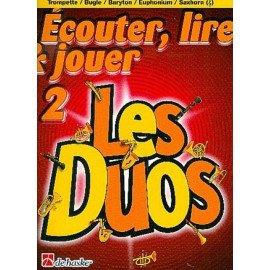 ECOUTER LIRE ET JOUER - LES DUOS VOL 2 - CUIVRES