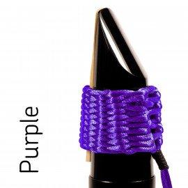 Ligature BAMBU Hand Woven / Tissée à la main pour Saxophone Ténor