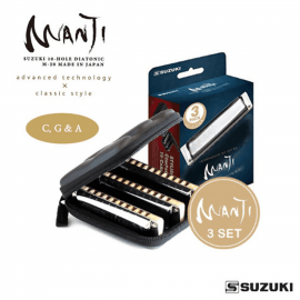 HARMONICA SUZUKI MANJI M-20 MP SET
