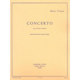 CONCERTO - H. TOMASI - Trombone