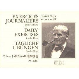 EXERCICES JOURNALIERS pour la Flûte - Marcel MOYSE