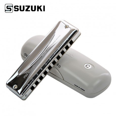 Harmonica Diatonique SUZUKI Promaster MR350