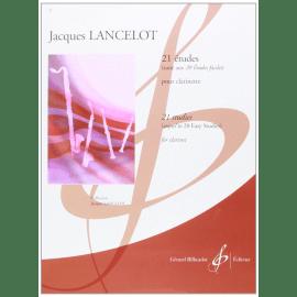 21 ETUDES de Lancelot (suite des 20 Etudes Faciles)