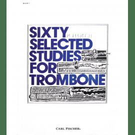 SIXTY SELECTED STUDIES FOR TROMBONE BOOK 1 G. KOPPRASCH