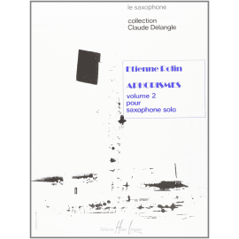 APHORISME II (A à I) Etienne ROLLIN Saxophone