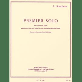 PREMIER SOLO POUR BASSON - E. BOURDEAU - Basson