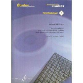 ETUDES VARIEES SUR LA SOUPLESSE ET LE LEGATO N°4 VOL 2 - Trombone