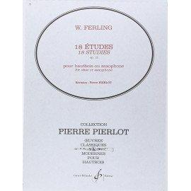 18 ETUDES Opus 12 de F. W. FERLING pour Hautbois