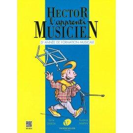 HECTOR L'APPRENTI MUSICIEN VOL 3 avec cahier d'exercice
