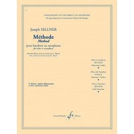 METHODE SELLNER - VOL 1 - Hautbois