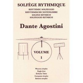 DANTE AGOSTINI Solfège Rythmique Volume 1