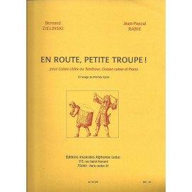 En Route Petite Troupe par B. ZIELINSKI & J-P. RABIE pour Caisse-Claire ou Tambour, Grosse Caisse et Piano