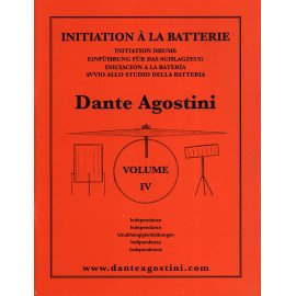 DANTE AGOSTINI METHODE DE BATTERIE Volume 4