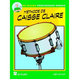 METHODE DE CAISSE CLAIRE Volume 1 Gert BOMHOF DE HASKE PERCUSSION SERIES
