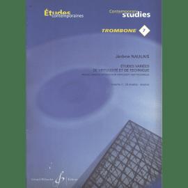 ETUDES VARIEES DE VIRTUOSITE ET TECHNIQUE N°7 VOL 2 - Trombone