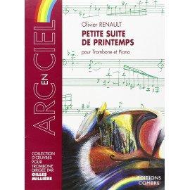 PETITE SUITE DE PRINTEMPS Olivier RENAULT pour Trombone et Piano