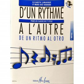 D'UN RYTHME A L'AUTRE Volume 1 LAMARQUE et GOUDARD