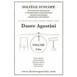DANTE AGOSTINI Solfège Syncopé Volume 1 bis