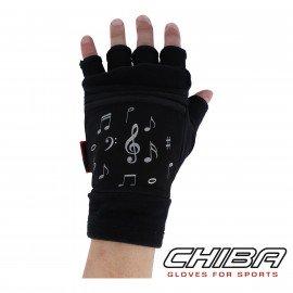 CHIBA MITAINE Taille L/XL Décor Musique