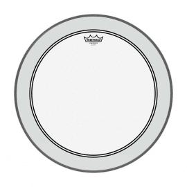 """PEAU REMO P3-1322-C2 Peau Powerstroke 3 transparente de 22"""" pour grosse caisse"""