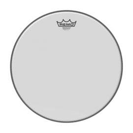 """PEAU REMO BA-0214-00 Peau Ambassador blanc lisse 14"""" pour tom/ Caisse claire"""