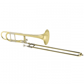 TROMBONE TENOR COMPLET COURTOIS AC420BO CIRCUIT OUVERT