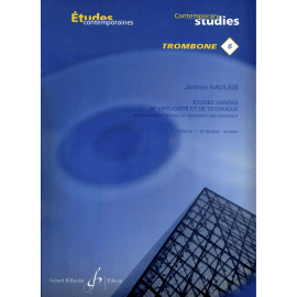ETUDES VARIEES DE VIRTUOSITE ET TECHNIQUE N°6 VOL 1 - Trombone