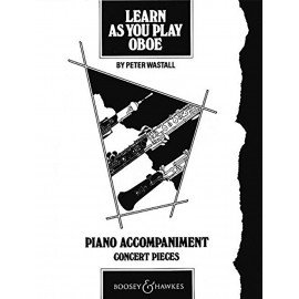 LEARN AS YOU PLAY OBOE - Accompagnement Piano
