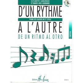 D'UN RYTHME A L'AUTRE Volume 2 LAMARQUE et GOUDARD