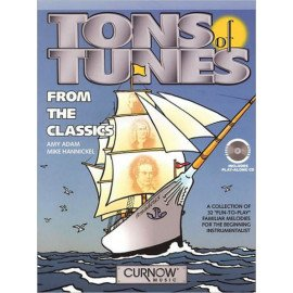 TONS OF TUNES FROM THE CLASSICS - Cuivres - Livre + CD inclus