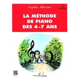 LA METHODE DE PIANO DES 4-7 ANS