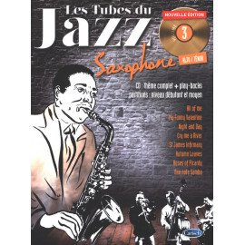 LES TUBES DU JAZZ VOL 3 - SAXOPHONE ALTO/TENOR + CD