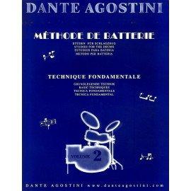 DANTE AGOSTINI METHODE DE BATTERIE Volume 2
