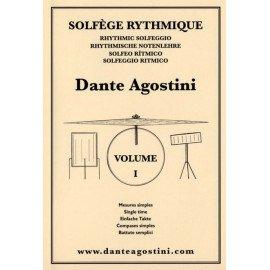 DANTE AGOSTINI Solfège Syncopé Volume 1