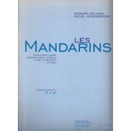 LES MANDARINS de B. ZIELINSKI & M. NIERENBERGER pour Batterie et Piano