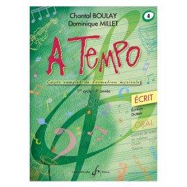 A TEMPO VOL 4 - ECRIT