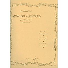 ANDANTE ET SCHERZO - L. GANNE