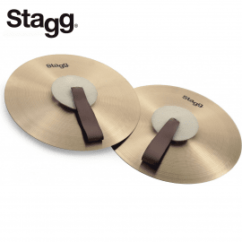 """CYMBALES FRAPPEES STAGG Dim 12"""""""" - MAB12"""