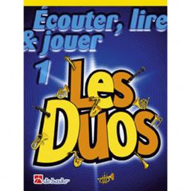ECOUTER LIRE ET JOUER - LES DUOS VOL 1 - Sax Alto/Baryton