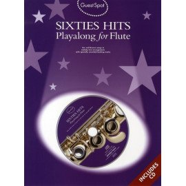 GUEST SPOT SIXTIES HITS PLAYALONG FOR FLUTE