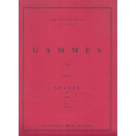 GAMMES Volume 1 Emile COCHEREAU pour Cor d'Harmonie