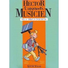 HECTOR L'APPRENTI MUSICIEN VOL 4 avec cahier d'exercice