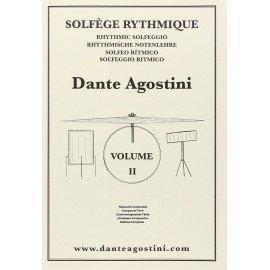 DANTE AGOSTINI Solfège Rythmique Volume 2