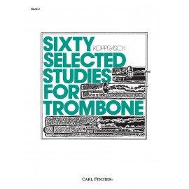 SIXTY SELECTED STUDIES FOR TROMBONE Book 2 G. KOPPRASCH