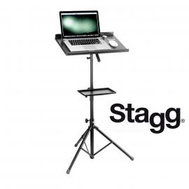 STAGG COS10BK Stand pour Ordinateur avec Tablette