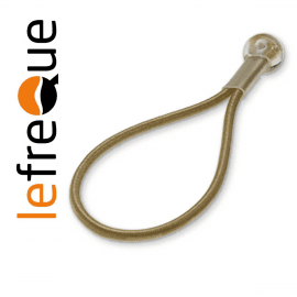 ATTACHE LEFREQUE Standard knotted bands 70 Jaune Or