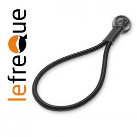 ATTACHE LEFREQUE Standard knotted bands 70 Noir