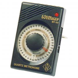 WITTNER MT50 METRONOME QUARTZ NOIR