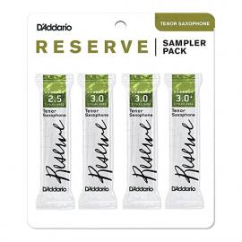 SAMPLER PACK D'ADDARIO RESERVE SAXOPHONE TENOR - 2 1/2 à 3+