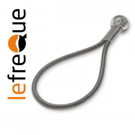 ATTACHE LEFREQUE Standard knotted bands 70 Argenté